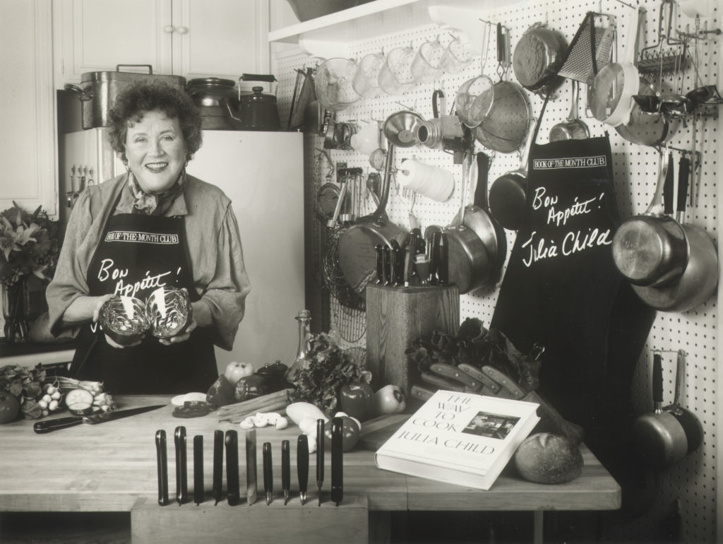 julia child Julia child was born in pasadena, california she was graduated from smith college and worked for the oss during world war ii in ceylon and china, where she met paul child.