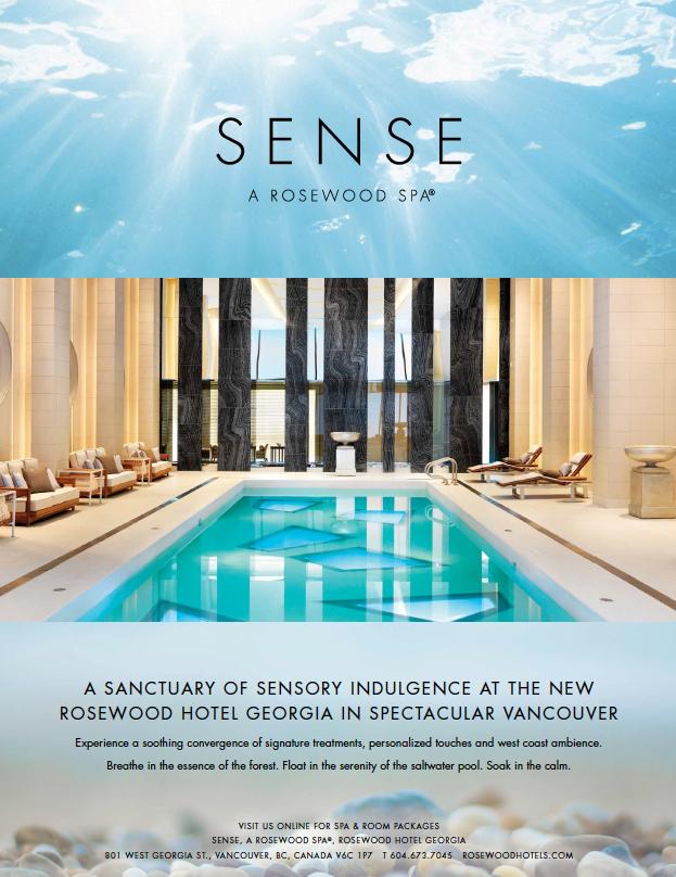 Rosewood hotel georgia vancouver lipstick sky marketing for Spa ad asiago