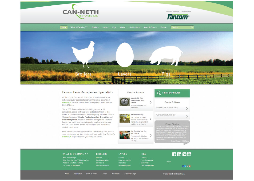 Can-Neth Imports Ltd. new website launch