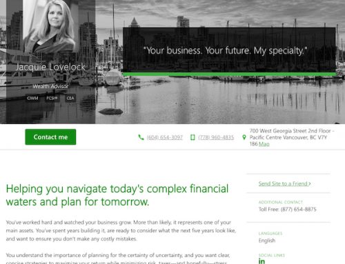 Jacquie Lovelock – TD Wealth