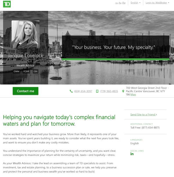 Longview Wealth Management - TD Wealth - Lipstick Sky Marketing
